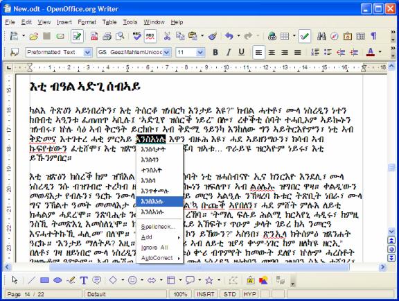 translate amharic to english dictionary